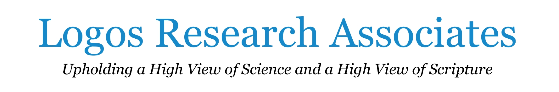 LOGOS Research Associates LOGO