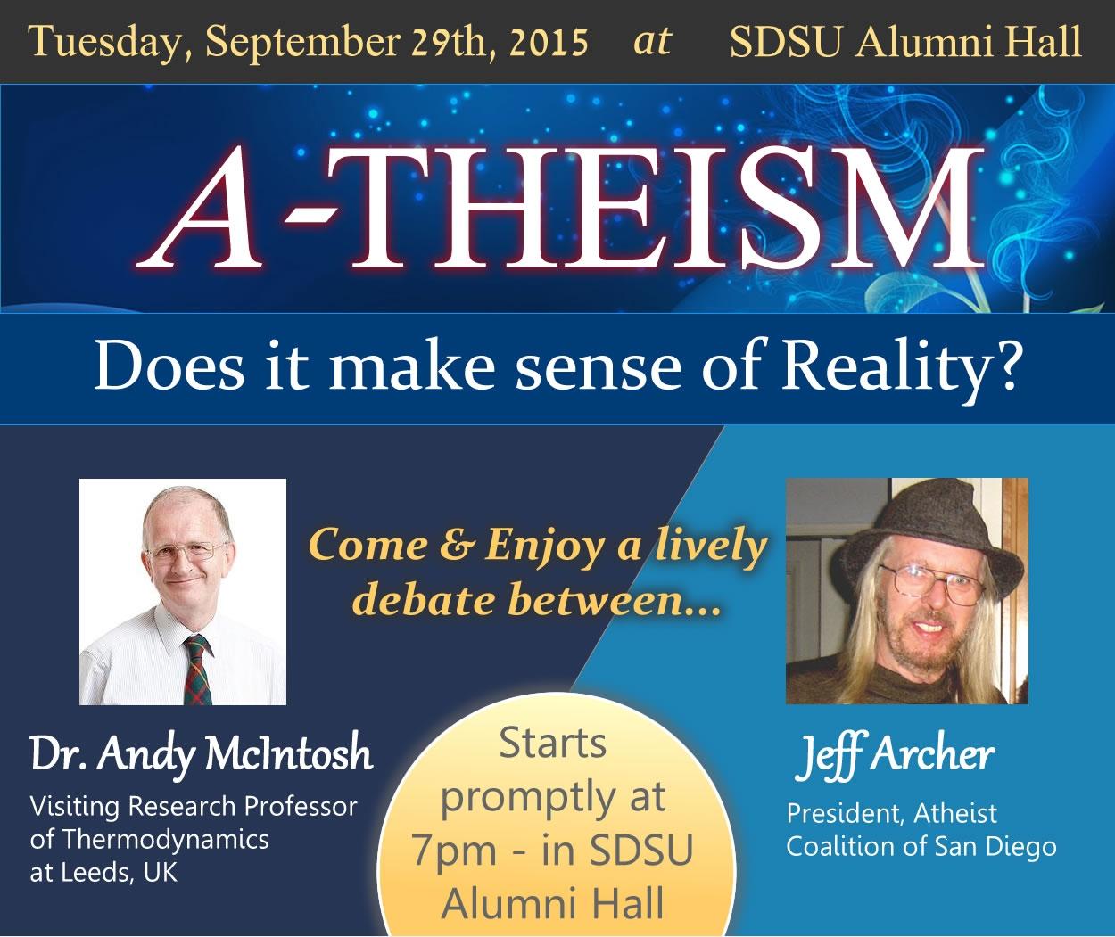 Jeff Archer debate